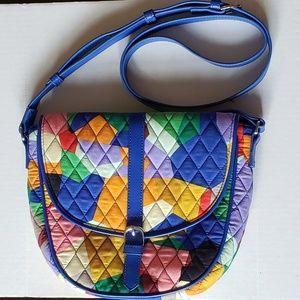 Vera Bradley Bags - Vera Bradley Slim Saddle Crossbody Bag